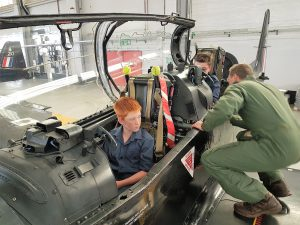 Aircadets in Hawk T1