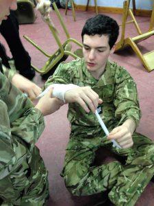 First Air, Air cadet, St john's First Aid, HeartStart